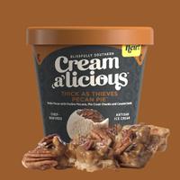 Creamalicious Thick As Thieves Pecan Pie Ice Cream