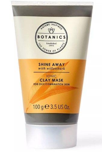 Botanics Shine Away Clay Face Mask - 3.4 fl oz