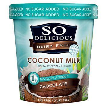 So Delicious No Sugar Added* Chocolate