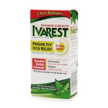 Ivarest 8 Hour Maximum Strength Anti-Itch Cream