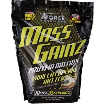 Iforce Nutrition 2650118 Mass Gainz Vanilla Cupcake Batter