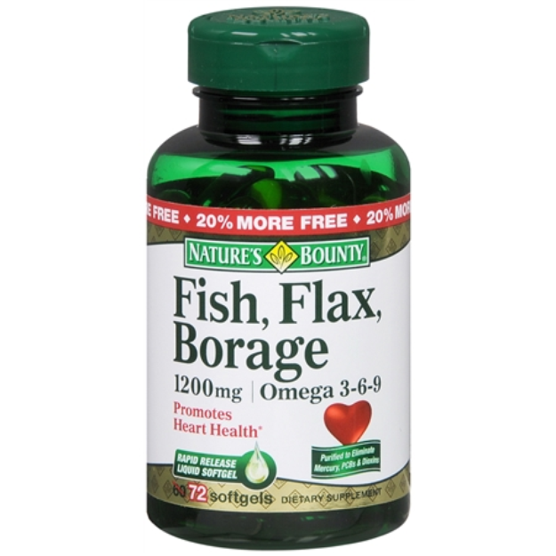 Nature's Bounty Omega 3-6-9 Fish