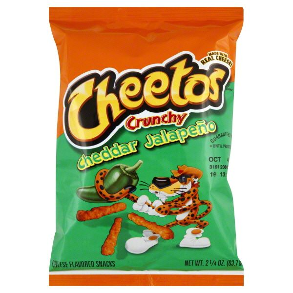 CHEETOS® Crunchy Cheddar Jalapeno Cheese Flavored Snacks