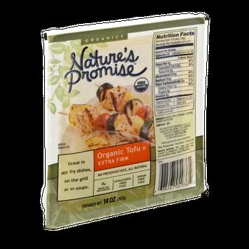 Nature's Promise Organics Organic Tofu Extra Firm