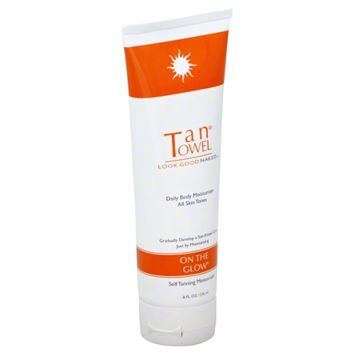 TanTowel On The Glow Self-Tanning Daily Body Moisturizer (Olive/Tan)