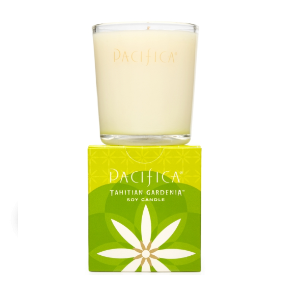 Pacifica Tahitian Gardenia Soy Candle