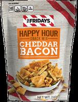 TGI Fridays Happy Hour Snack Mix Cheddar Bacon
