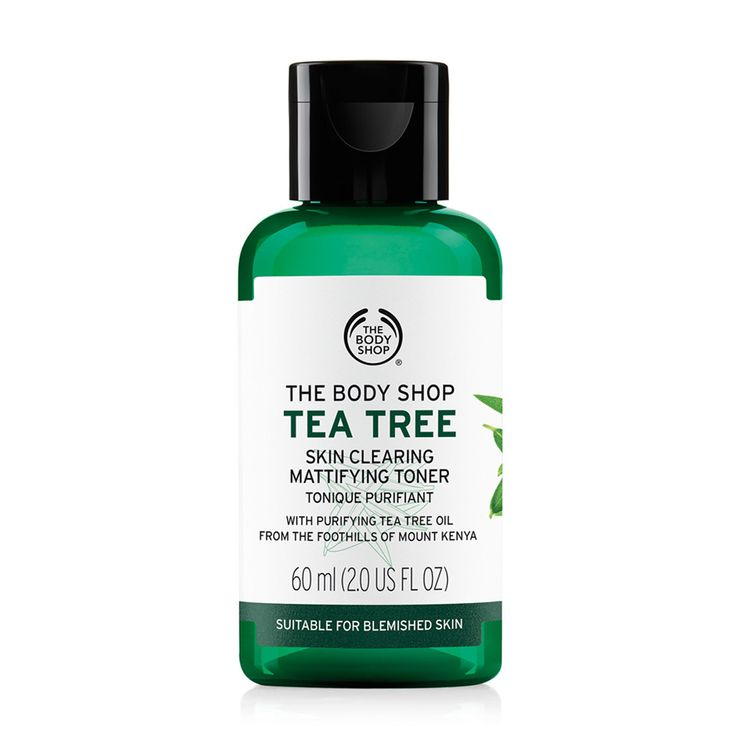 The Body Shop Tea Tree Skin Clearing Mattifying Toner | 9 Best Toners in Singapore for Every Skin Type | magazine.vaniday.com