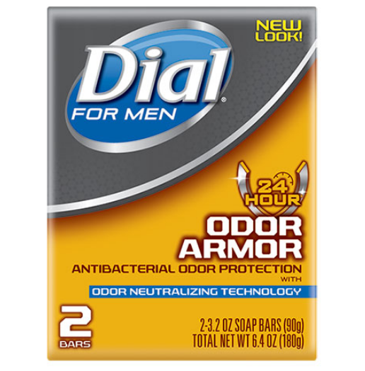 Dial® For Men Odor Armor Antibacterial Soap