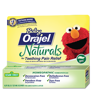Baby Orajel™ Natural Source Homeopathic Teething Gel