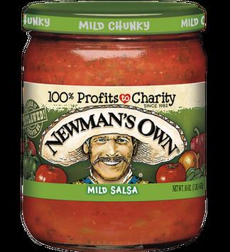 Newman's Own Mild Chunky Salsa