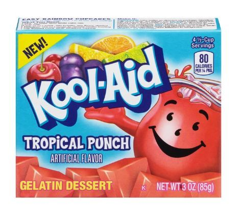Kool-Aid Tropical Punch Gelatin Dessert Mix
