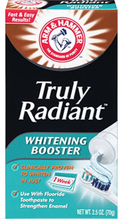 ARM & HAMMER™ Truly Radiant Whitening Booster
