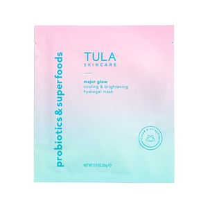 Tula Skincare Cooling And Brightening Hydrogel Mask 3 Pack New/sds