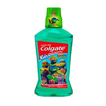 Colgate® Kids TEENAGE MUTANT NINJA TURTLES™ BUBBLE FRUIT® MOUTHWASH