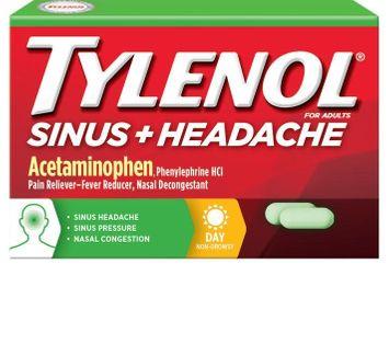 Tylenol® Sinus + Headache Daytime Caplets