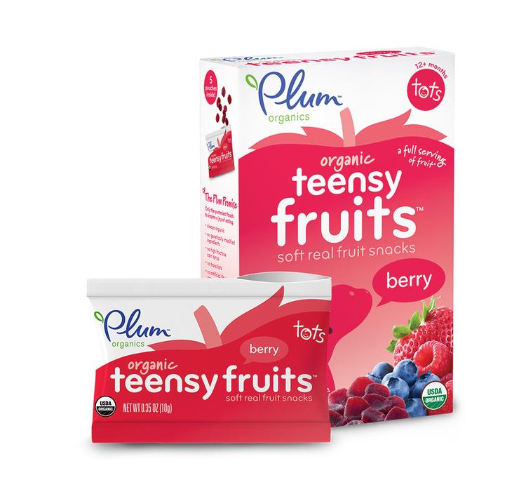 Plum Organics Teensy Fruits® Berry