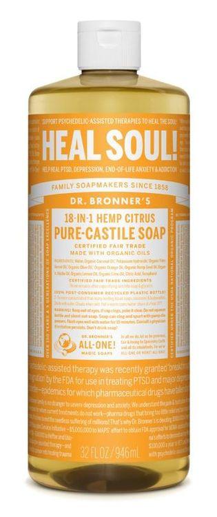Dr. Bronner's Tea Tree Pure-Castile Liquid Soap