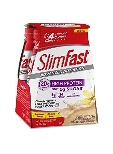 SlimFast® Advanced Ready to Drink Shake, Vanilla Creme