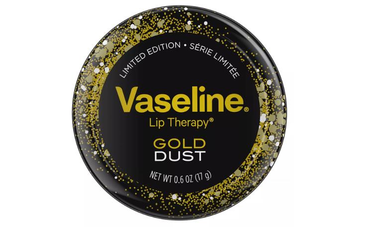 Vaseline Gold Dust Lip Tin