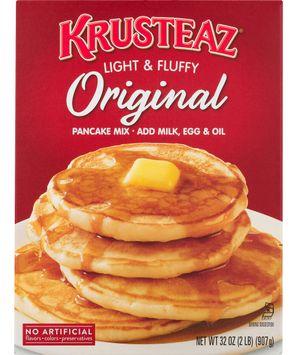 Krusteaz Pancake Mix Original Light & Fluffy, Box