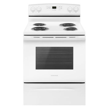 Amana 30-inch Electric Range with Self-Clean Option