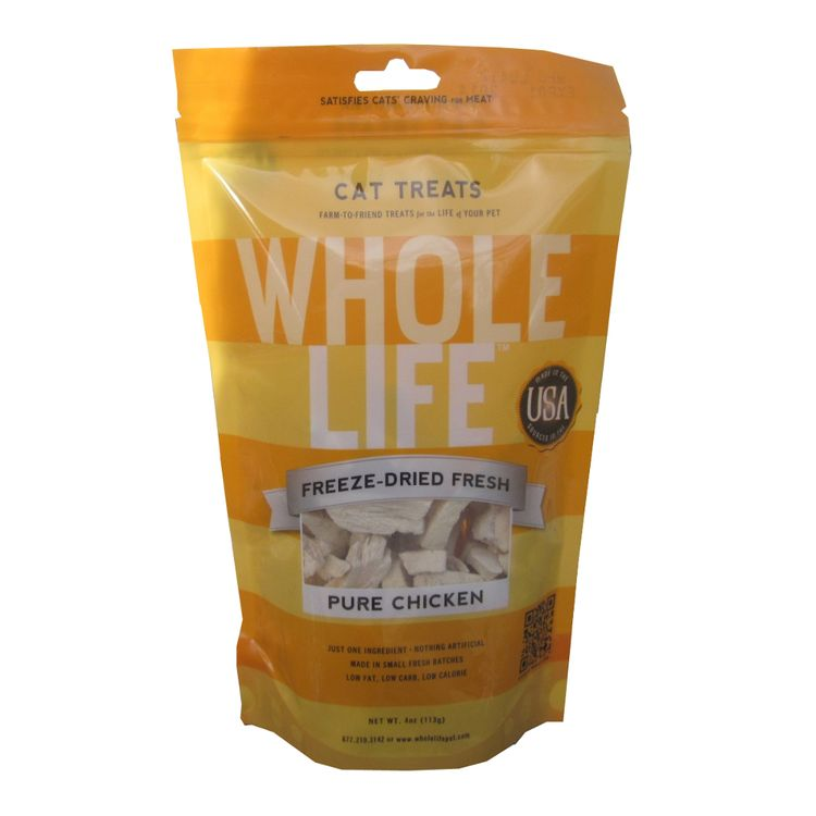 Whole Life Pet Farm To Friend Pure Chicken Breast Cat Treats (4 Oz)