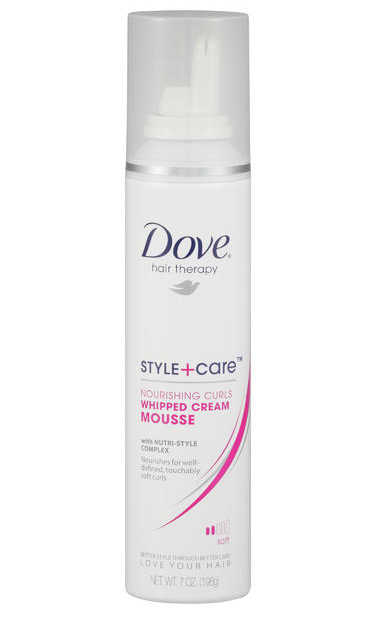 Dove Style+Care Nourishing Curls Whipped Cream Mousse