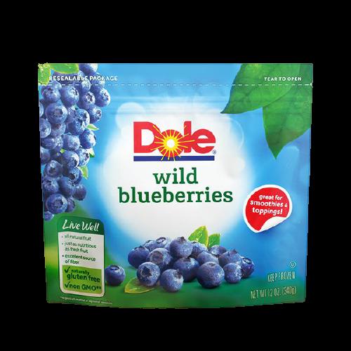 Dole Frozen Wild Blueberries
