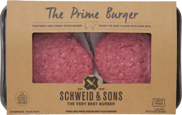 Schweid and Sons Burgers The Prime Burger