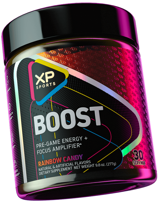 XP Sports Boost Pre-Game Energy + Focus Amplifier - Rainbow Candy