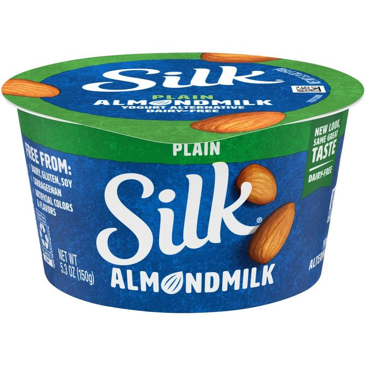 Silk Plain Almond Dairy-Free Yogurt Alternative