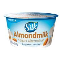 Silk Vanilla Almond Dairy-Free Yogurt Alternative