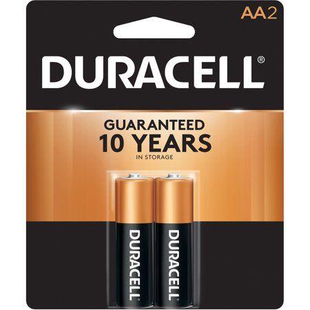 Duracell Coppertop Alkaline Batteries AA