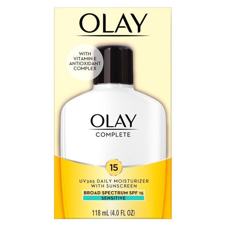 Olay Complete   Lotion Moisturizer, Sensitive   SPF 15