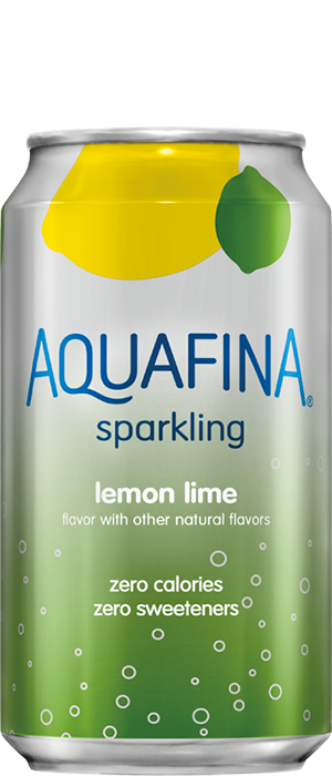 Aquafina Sparkling Lemon Lime Water