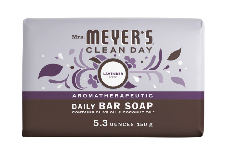 Mrs. Meyer's Lavender Daily Bar Soap
