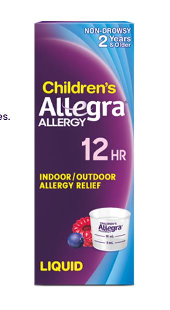 Children's Allegra 12Hr Liquid