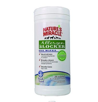Nature's Miracle® Allergen Blocker Dog Wipes