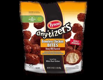 Tyson Any'tizers® Boneless Chicken Bites (Honey BBQ Flavored)