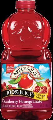 Apple & Eve® Cranberry Pomegranate 100% Juice