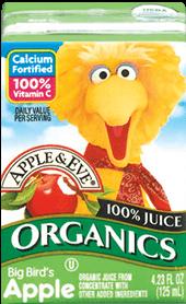 Apple & Eve® Sesame Street Organic Big Bird's Apple