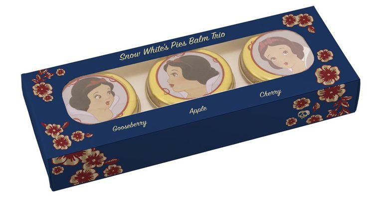 Bésame Cosmetics Snow White's Pies Balm Trio