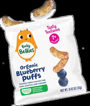 Baby Bellies Organic Blueberry Puffs by Little Bellies