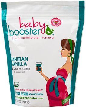 Baby Booster - The Prenatal Protein Formula Tahitian Vanilla - 1 lb.