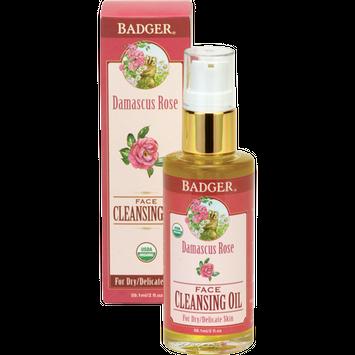 BADGER® Damascus Rose Face Cleansing Oil