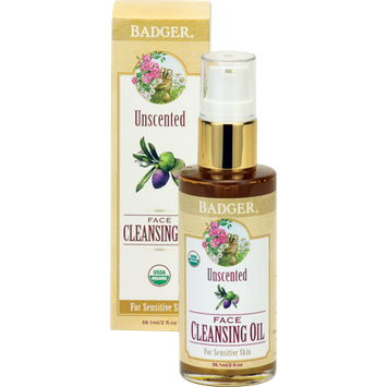 BADGER® Unscented Face Cleansing Oil