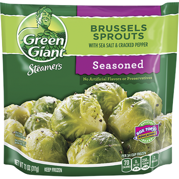 Green Giant® Brussel Sprouts With Sea Salt and Cracked Pepper