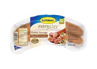 Butterball® Everyday Turkey Sausage Hardwood Smoked