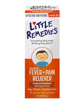 Little Remedies® Children's Fever & Pain Reliever, Cherry Flavor